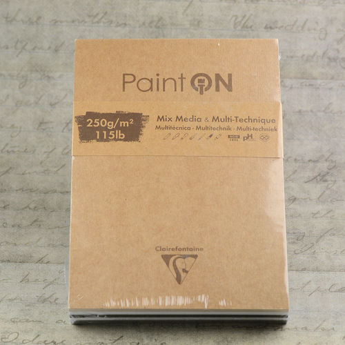 Clairefontaine PaintOn Multifunktionsblock 250g 50 Blatt