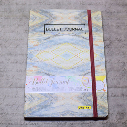 Online Bullet Journal Marmor 90g Dot