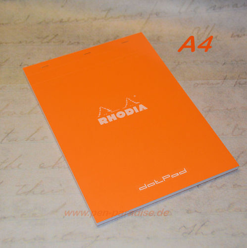 Rhodia Block DotPad A4 orange