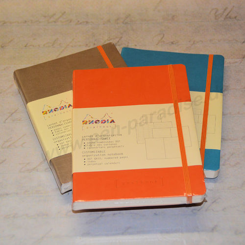 Rhodia Goalbook A5 DotGrid in 4 Farben
