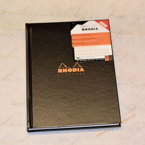 Rhodia Office Notebook A4 oder A5 Hardcover