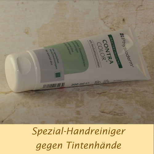 gegen Tintenfinger: Physioderm ContraColor Paste